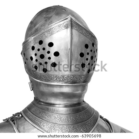 Knight head in helmet Stock Photos, Images, & Pictures ...