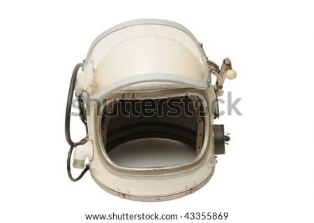Helmet of the cosmonaut - stock photo