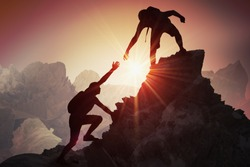 Image result for helping climbers