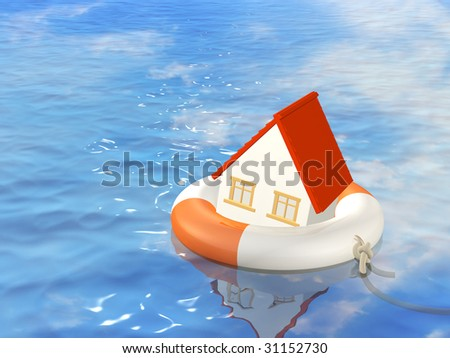 Help in a crisis situation - stock photo