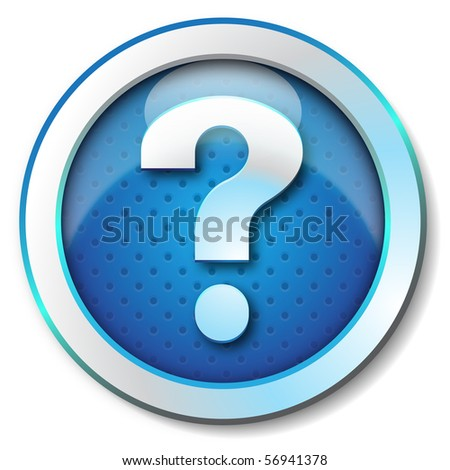 Help web icon - stock photo