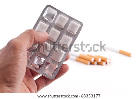 Help with Cigarette Addiction - stock photo