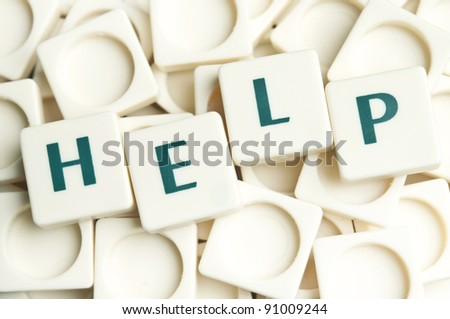 Help word made by leter pieces