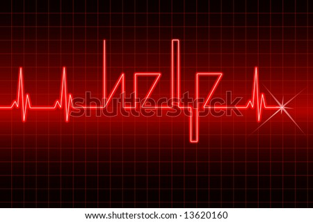 Help your heart now! - stock photo