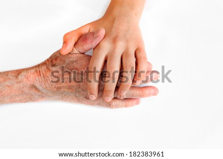 Helping hand  - stock photo