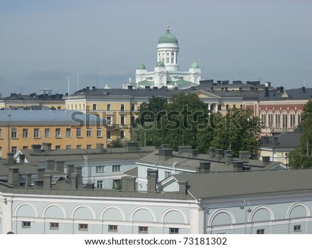 Helsinki Finland - stock photo