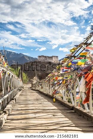 Hemis monastery in Ladakh, India - stock photo