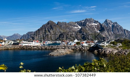 Henningsvaer in Norway