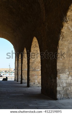 Heraklion Crete, Venetian Shipyards / Arsenals