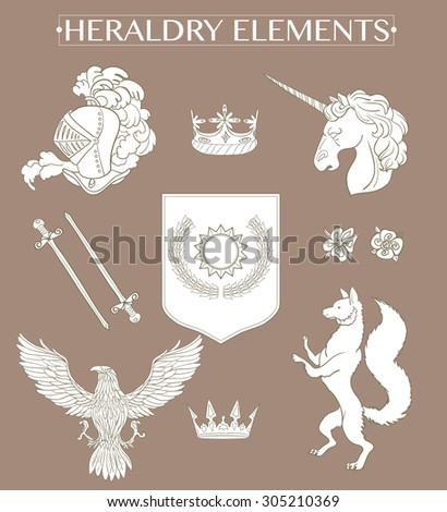 Eagle Coat Of Arms Stock Images RoyaltyFree Images  Vectors