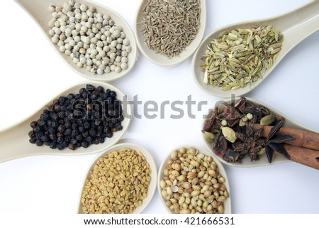 Herb and spices that used in cooking
