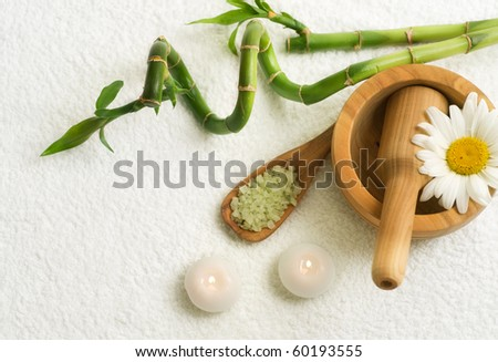 Herbal Spa - stock photo