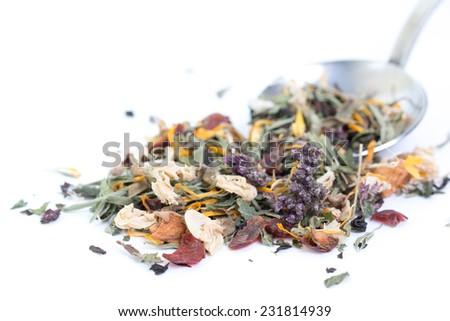 herbal tea - stock photo