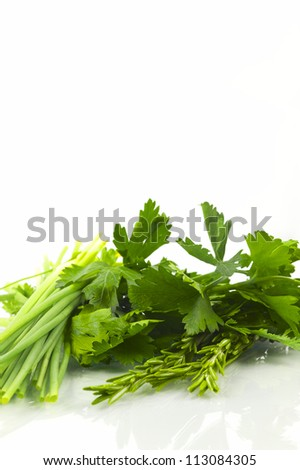 Herbs for cooking - stock photo