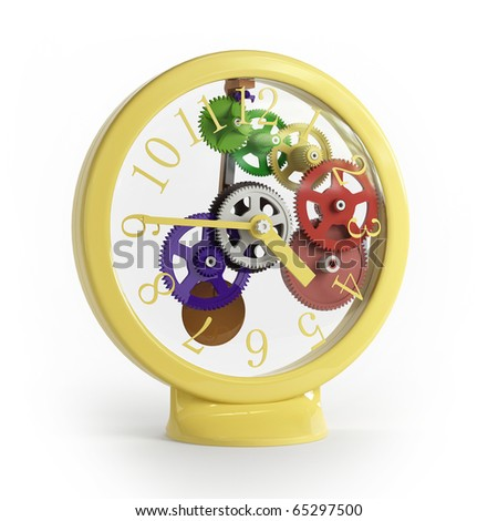 Here shows children watch - stock photo