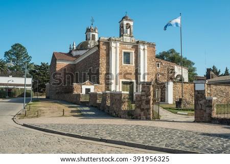 Heritage Jesuit estancia in Jesus Maria, Cordoba, Argentina - stock photo