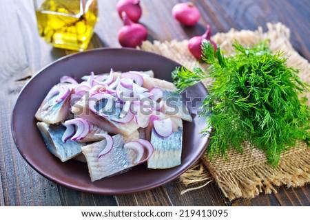herring - stock photo