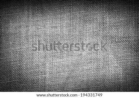 Hessian or burlap sack texture as background - stock photo