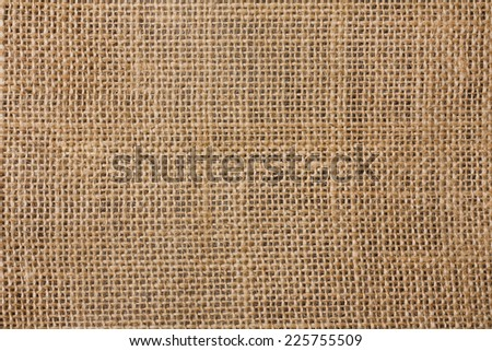 Hessian Texture - stock photo