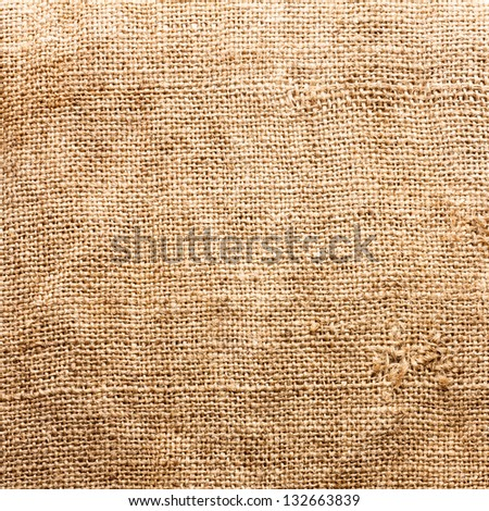 Hessian Texture, Background - stock photo