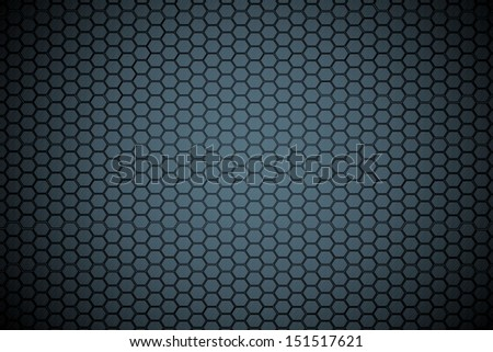 hexagon steel texture background