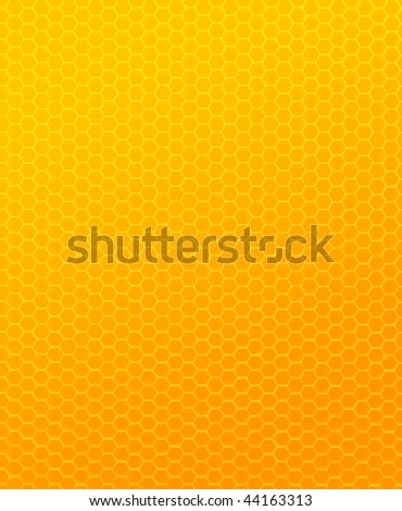 Hexagonal - Honeycomb texture - stock photo