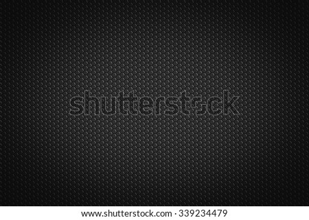 hexagonal pattern on a black background