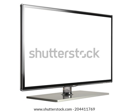 HI-Def Television - stock photo