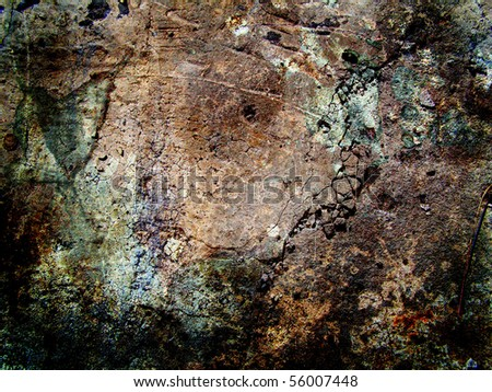 hi-res abstract grunge background, raster illustration
