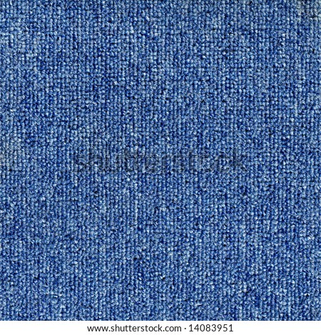 Hi resolution blue moquette background - stock photo