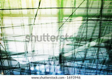 Hi-Tech Abstract Background. Great as a background or a design element.