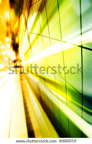 Hi-Tech Abstract Futuristic Background. Great as a background or a design element. - stock photo