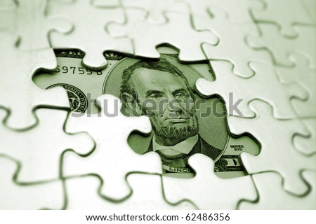 Hidden assets - stock photo