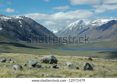 High altitude dry grasslands, lakes and glaciers in the Altai-Sayan mountains affected by climate change