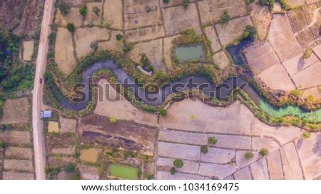 High Angle River Field