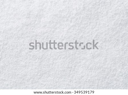 High angle view of snow texture, background with copy space - stock photo