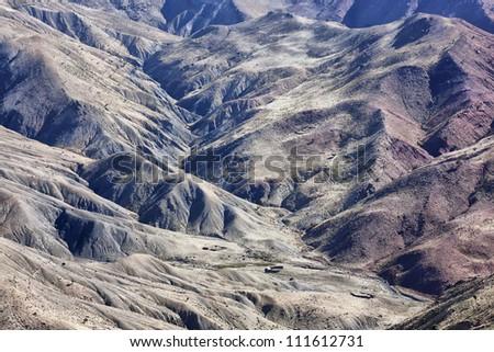 High Atlas Mountains. - stock photo