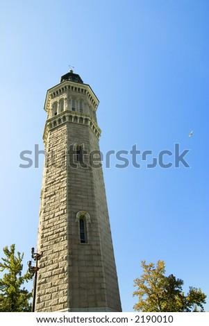High Bridge Water Tower in New York - stock photo