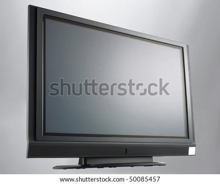 High clear television - stock photo