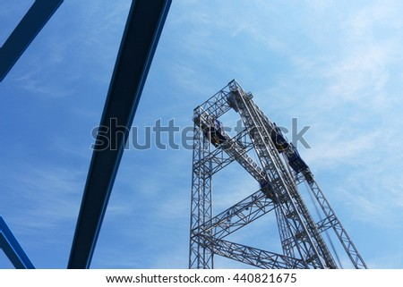 high construction crane