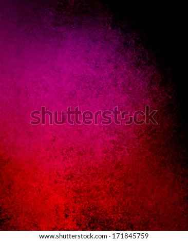 high contrast red black background with pink tones, cool spotlight dramatic design with black borders, rough vintage grunge background texture layout, elegant classy background illustration - stock photo