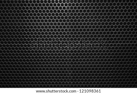 high definition metal wall background - stock photo