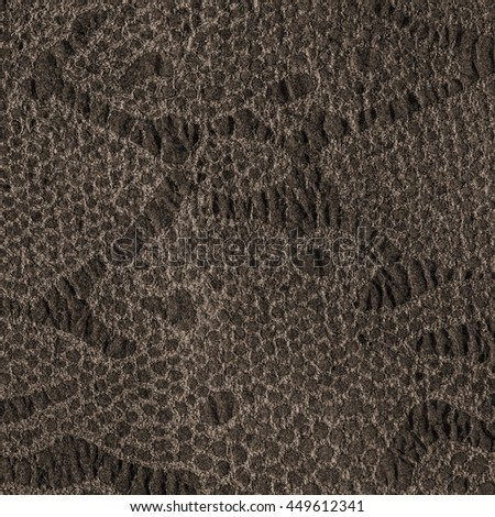high detailed  brown artificial snake skin texture.Useful for background - stock photo