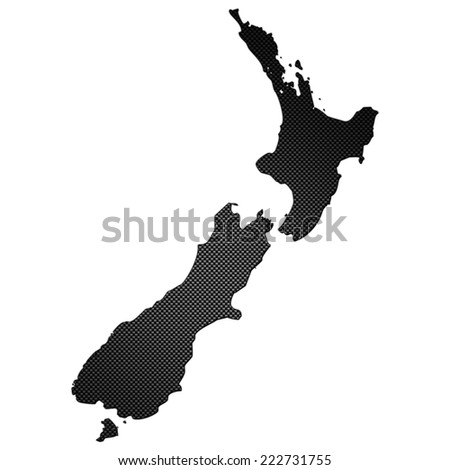 High detailed carbon map - New Zealand