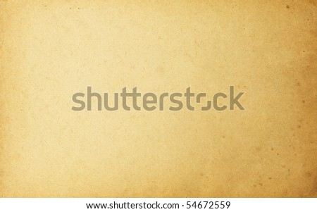 High detailed vintage paper, horizontal orientation. - stock photo