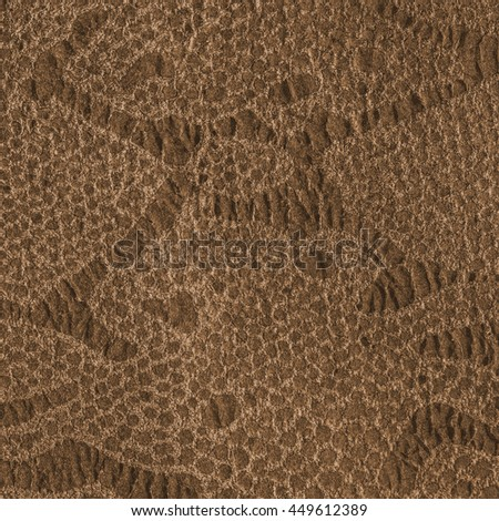 high detailed -yellow-brown artificial snake skin texture.Useful for background - stock photo