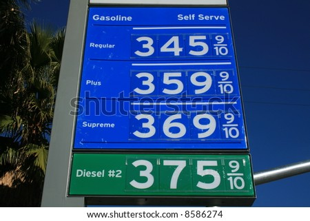 High Gas Prices