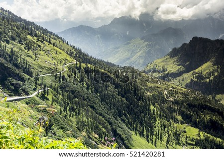 High  Himalaya mountains, Himachal Pradesh, Indian