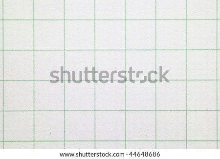 High magnification graph grid paper. Shot square. to image dimension. - stock photo