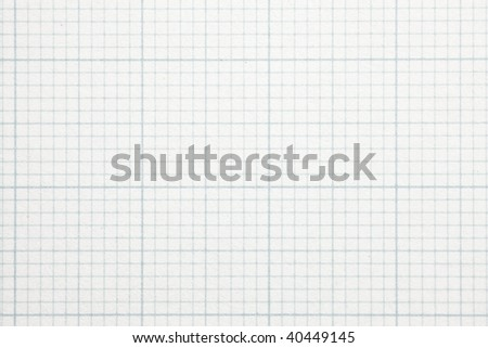 High magnification graph grid scale paper. Shot perfectly square. to image dimension. - stock photo
